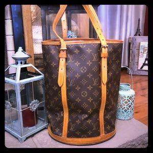 Vintage Louis Vuitton Bucket Bag GM 100% Authentic